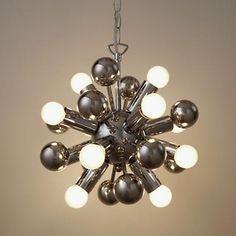 Retro Multi-bulb Ceiling Light for the boys room