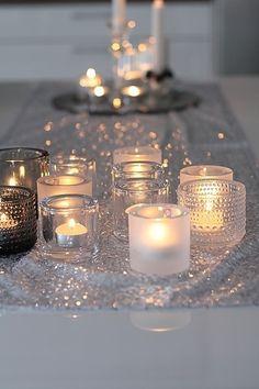 decor, bougi, soft lighting, candlelight, mason jar candles, candle light, iittala, candl light, christma