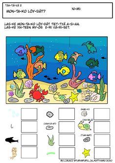 Itse tekemiä tehtäviä lapsille. Saa kopioida! 😊 Peanuts Comics, Map, Location Map, Maps