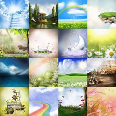 1000-Backgrounds-Mix-v1-Digital-Photo-Backdrops-Photoshop-Templates-Chroma-Key …