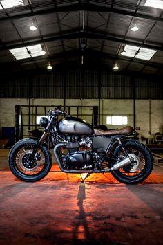 ♠Milchapitas-Kustom Bikes♠: Triumph Bonneville By Macco Motors