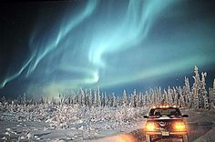 One day, I will see the Aurora Borealis in all it's glory.  I may have to go to Yellowknife to do it, but I WILL see it.