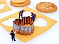 Snack makers - Jump one more time & we'll be able to top that last cracker.