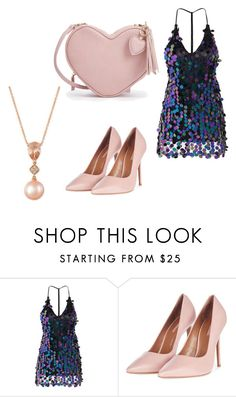 """""""Untitled #49"""" by engineeringmalak ❤ liked on Polyvore featuring Topshop and LE VIAN"""
