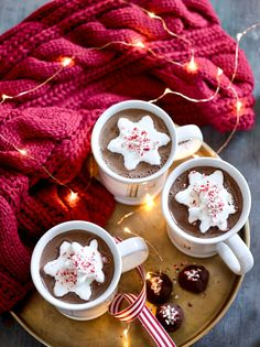 Make your own marshmallows for the holidays.