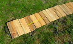 Allée de jardin en bois Instructions de montage...