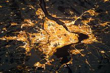 Items similar to Montreal Night Lights from Space Satellite View Montréal la Nuit island City Streetlights Space Art Urban Nasa Earth Photography Photo Print on Etsy Saint Jean Sur Richelieu, Photo Satellite, Capital Of Canada, Image Center, Of Montreal, Montreal Canada, Earth Photos, Science, Earth