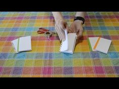 How to Make a Mini Sketchbook from a Sheet of Paper (EASY)