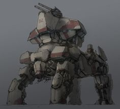 not really sure about its function.. maybe a transport mech? or a moving energy shield generator?
