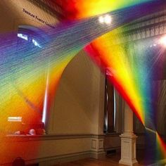 """Plexus A1"" #installation by @gabrieldawe  The Mexican #artist and his team hung thousands of pieces of polyester thread on the floor and ceiling of the #RenwickGallery of @americanartmuseum 