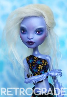 Scilla - Custom CAM Sea Monster Monster High Doll by ~retrogradeworks on deviantART