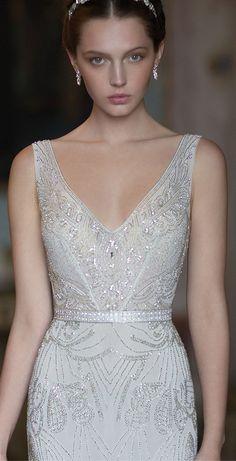 f7464339f07 Alon Livné Bridal 2015 Блёстки На Свадебном Платье
