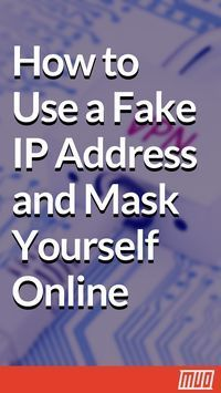 How to Use a Fake IP Address and Mask Yourself Online Sometimes you need to hide your IP address. Here are some ways to mask your IP address and cloak yourself online for anonymity. Life Hacks Computer, Iphone Life Hacks, Computer Projects, Computer Basics, Computer Help, Computer Internet, Computer Security, Computer Tips, Computer Hacker
