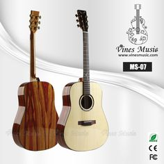 MS-07solid spruce aoustic guitar