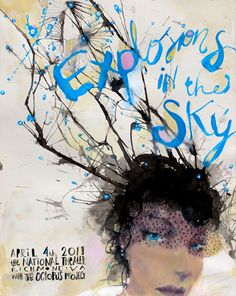 Explosions in the Sky illustrated poster