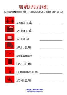Spanish Worksheets, Spanish Activities, Writing Activities, Ap Spanish, Spanish Lessons, Spanish Language Learning, Teaching Spanish, Listen And Speak, Spanish Conversation