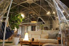 小さなスペースでドーム空間を楽しめます⭐️