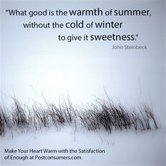 Favorite Winter Quotes: Cold and Sweetness