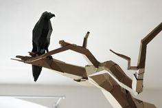 Bartek Elsner – cardboard sculpture
