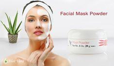 Masca-pudra Facial Mask Powder este o combinatie unica de ingrediente valoroase, alese pentru calitatile lor de curatare in profunzime a porilor si de hidratare cutanata. #facialmaskpowder #vitamineforever #foreverliving #produseforever #naturale #afaceriforever #produsealoevera Facial Masks, Aloe Vera, Glass Of Milk, Face Masks, Facials