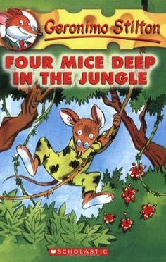 Amazon.com: Four Mice Deep in the Jungle (Geronimo Stilton, No. 5) (9780439559676): Geronimo Stilton: Books