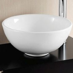 40cm Round Ubeda Counter & Cabinet Top Ceramic Basin