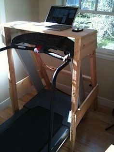 DIY Treadmill Desk - Fitness is life, fitness is BAE! <3 Tap the pin now to discover 3D Print Fitness Leggings from super hero leggings, gym leggings, fitness, leggings, and more that will make you scream YASS