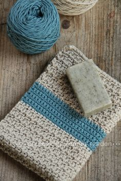 I like the idea of a large stripe of color on a neutral blanket. Anyone know what stitch this is?