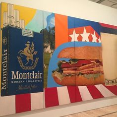 So many things to love @whitneymuseum but this Tom Wesselmann was a…
