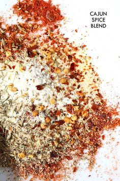 Cajun Spice Recipe. Make your own Cajun seasoning. How to make Cajun spice blend. Vegan Gluten-free Add to Roasted Vegetables, sprinkle on tofu and bake and add to sloppy lentils