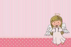 imagen de un angelito animado en rosado - Buscar con Google
