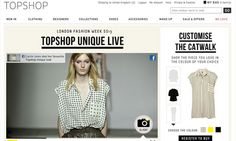 Topshop social network fashion experience for London Fashion Week