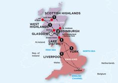 England & Scotland Travel Itinerary