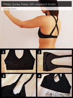 Instruction layout - cross back bralet lingerie patterns, clothing patterns, sewing lingerie, sewing Lingerie Patterns, Sewing Lingerie, Clothing Patterns, Sewing Bras, Diy Couture Top, Sewing Clothes, Diy Clothes, Lingerie Couture, Motif Bikini
