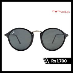 5a7174f300 ... Eyewear. Ainak.pk · Sunglasses ·  Rayban  Round Fleck is vintage   spectacle  style  frame. It has