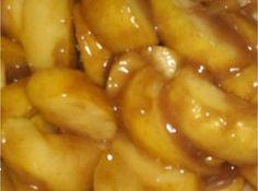 Southern Fried Apples Recipe - put em in a pie, make a GF crust