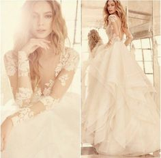 Elysia gown by hailey paige