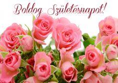 Születésnapi képeslapok   pimpilla Name Day, Birthday Cupcakes, Happy Birthday, Flowers, Plants, Google, Anniversary Cupcakes, Happy Brithday, Saint Name Day
