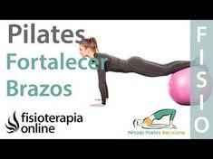 Pilates exercises to tone and strengthen the arms Studio Pilates, Pilates Reformer, Pilates Workout, Pilates Mat, Pilates Videos, Workout Videos, Trx Yoga, Aerobics, Excercise