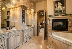 """View this Great Traditional Master Bathroom with Master bathroom & Complex granite counters. Discover & browse thousands of other home design ideas on Zillow Digs."""