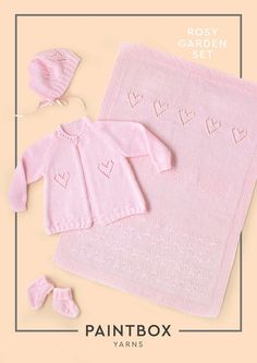 Rosy Garden Set in Paintbox Yarns Baby DK. Discover more Patterns by Paintbox Yarns at LoveKnitting. The world's largest range of knitting supplies - we stock patterns, yarn, needles and books from all of your favourite brands.