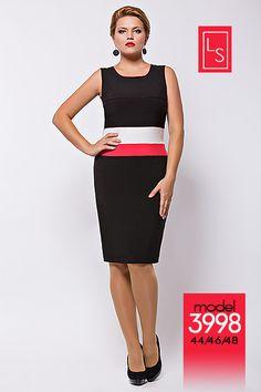 Платья для полных модниц белорусского бренда Lady Secret. Осень-зима 2013-2014