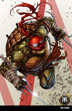 Teenage Mutant Ninja Turtles - Raphael by Harvey Tolibao * How they should've looked