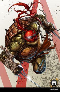 Teenage Mutant Ninja Turtles - Raphael by Harvey Tolibao * How they should've looked