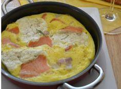 Smoked Salmon Cream Cheese Frittata | AllFreeCasseroleRecipes.com