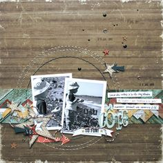 Rustic Scraps: Boys Rule Scrapbook Kits: Guest Designer - February 1st sketch