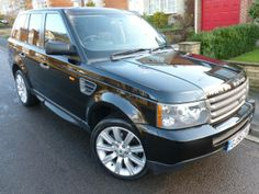 2006 #LandRover #RangeRoverSport 2.7 TDV6 S 5dr Auto Estate. Diesel. Black. Click for loads more. £17,995