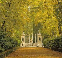 Jardines de Apolo, Palacio Real de Aranjuez. Comunidad de Madrid