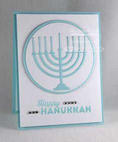 Happy Hanukkah; Hanukkah Light and Love Die-namics; Circle STAX Set 1 Die-namics; Circle STAX Set 2 Die-namics - Michele Boyer