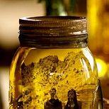 Mason jar + Photo + Olive oil = AMAZING <3